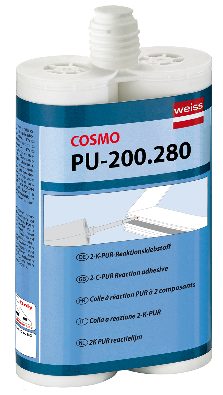 Cosmofen duo двухкомпонентный полиуретановый клей для металла в омске мастика герметик брит-норд