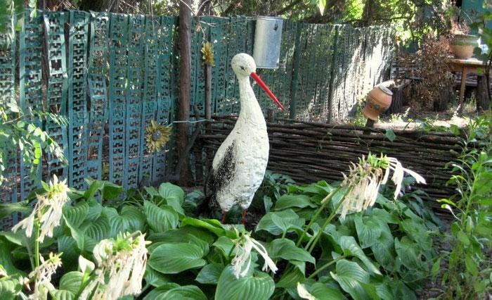 Поделки из пены для сада и огорода своими руками с фото